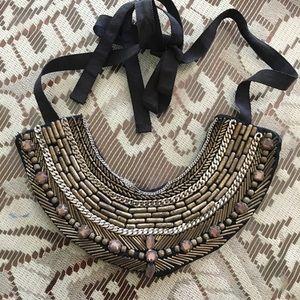 $200 Patrizia Pepe Beautiful Bib Necklace Jewelry